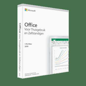 Office 2019 voor Thuisgebruik en Zelfstandigen