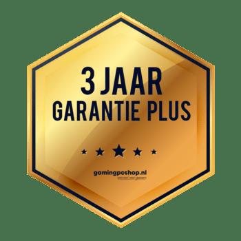 3 jaar garantie en ondersteuning PLUS