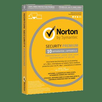 Symantec Norton Security Premium 3.0 25GB NL (1 User / 10 appraten)