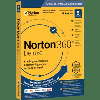 Symantec Norton Security Deluxe 3.0 NL (1 jaar / 5 apparaten)